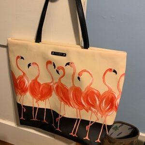 Kate Spade Flamingo Tote NWT